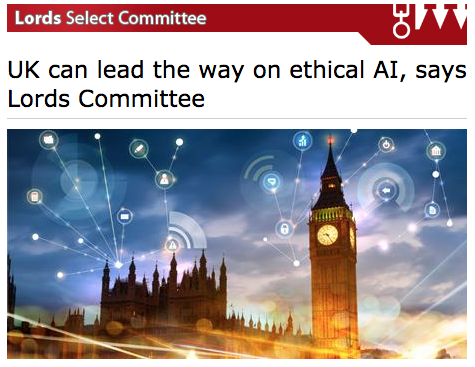 Lords Select Committee on Artificial Intelligence talks HAT - 16 April 2018, page 33
