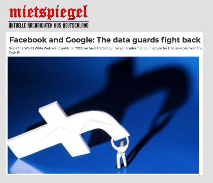 The data guards fight back - MietSpiegel - 29 January 2019