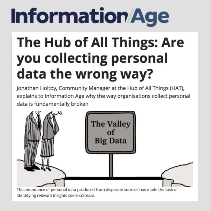 HAT on Information Age - 22 October 2018