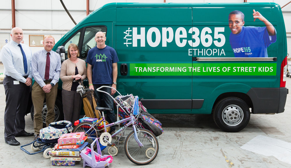 McLaughlin & Harvey  and their Staff Charity Committee have been very generous to Hope365 in a variety of ways including an annual Spring Clean.