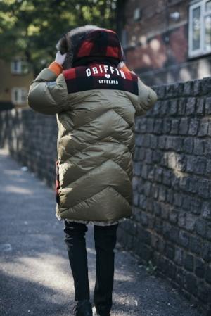 Griffin Sleeping Bag Coat (reverse shown)