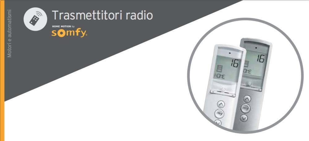Trasmettitori radio Somfy