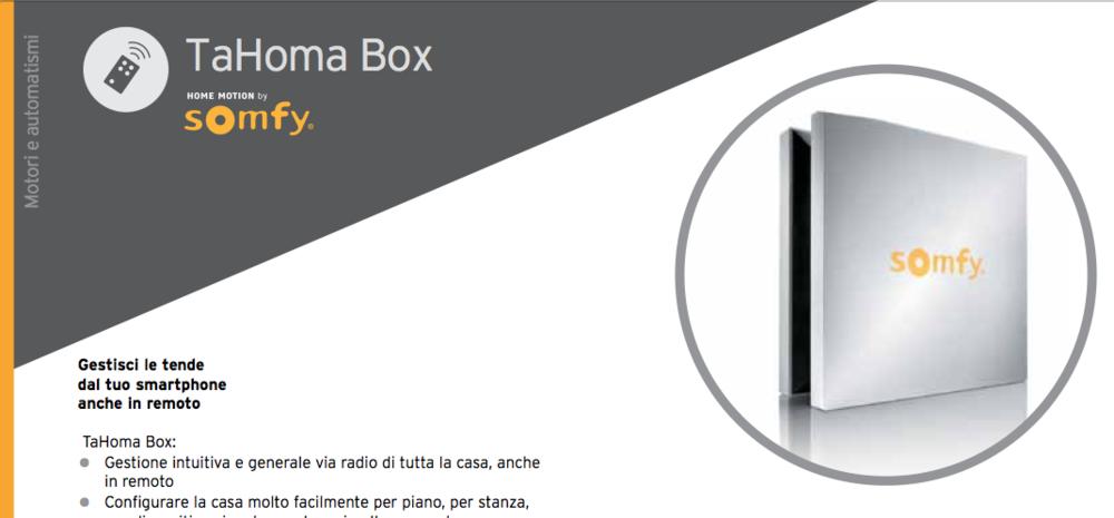 TaHoma Box
