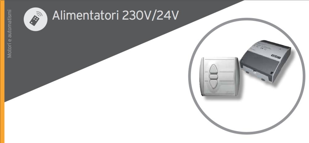 Alimentatori 230V/24V