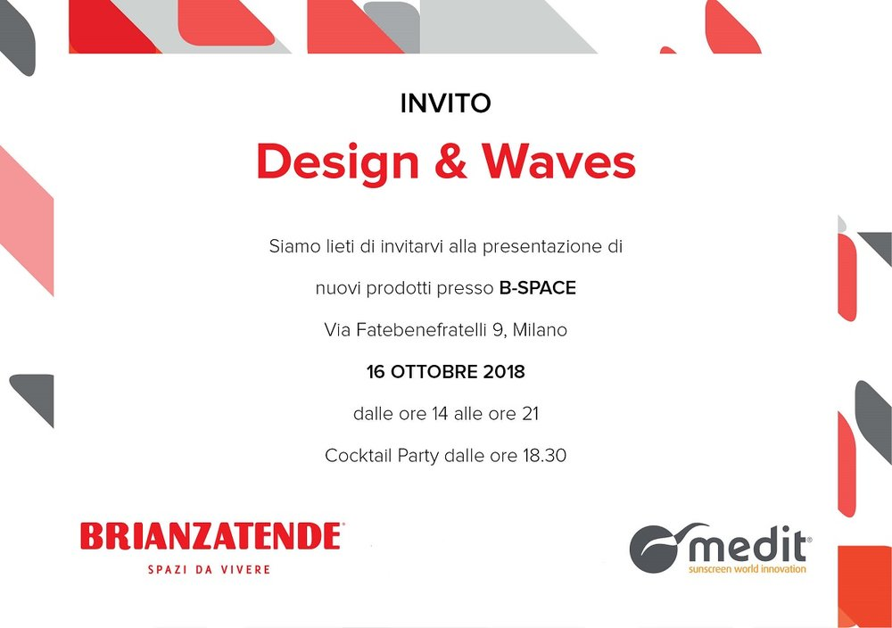Medit @ Fall Design Week 2018
