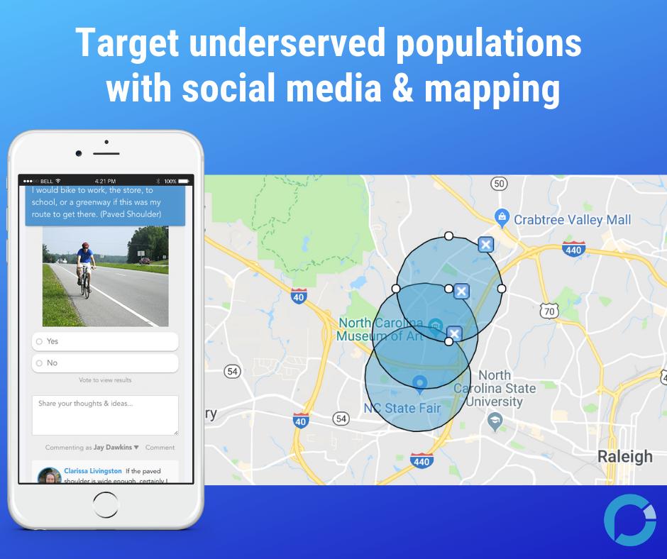 Online engagement tools for public involvement - social media tools for community engagement - PublicInput.com