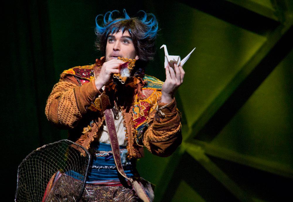 Papageno in Die Zauberflote //Edmonton Opera  Edmonton, Canada