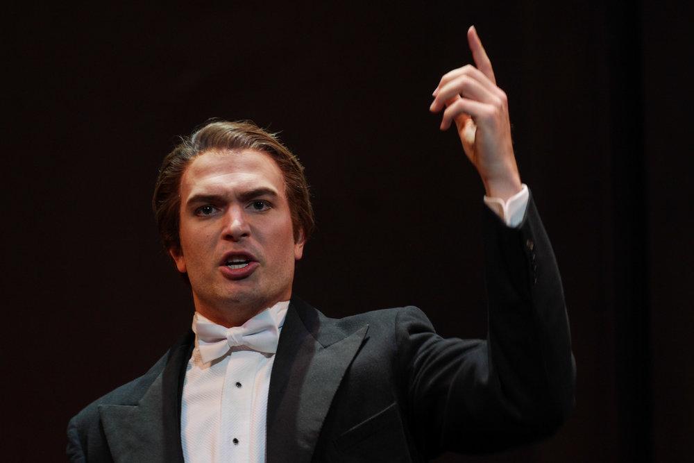 Figaro in Le Nozze di Figaro //  Opera Lyra Ottawa   Ottowa,Canada
