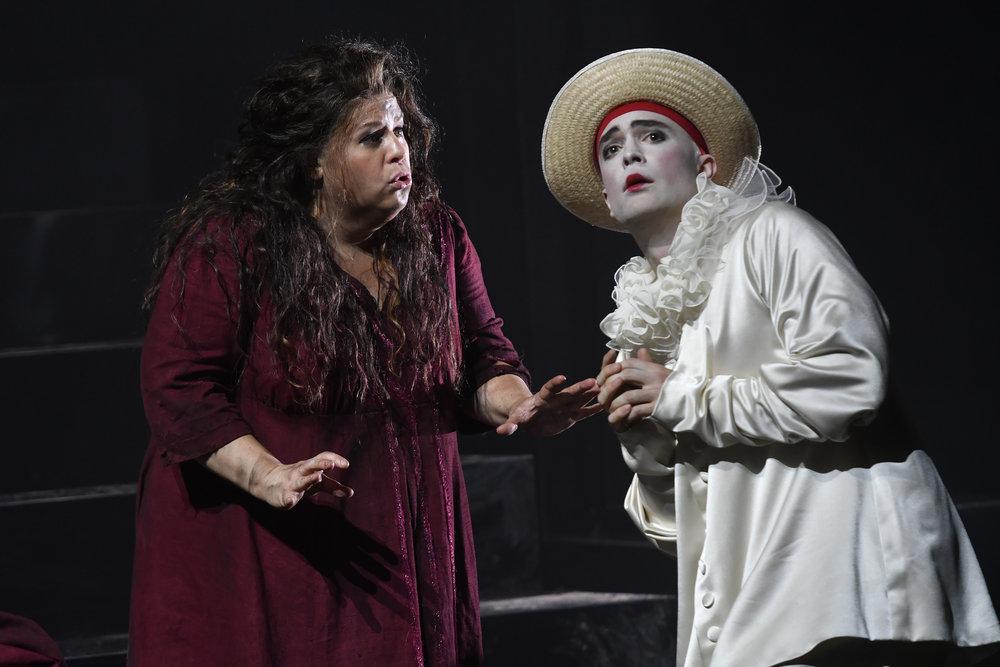 Harlekin in Ariadne auf Naxos   //   Opera de Lorraine  Nancy, France