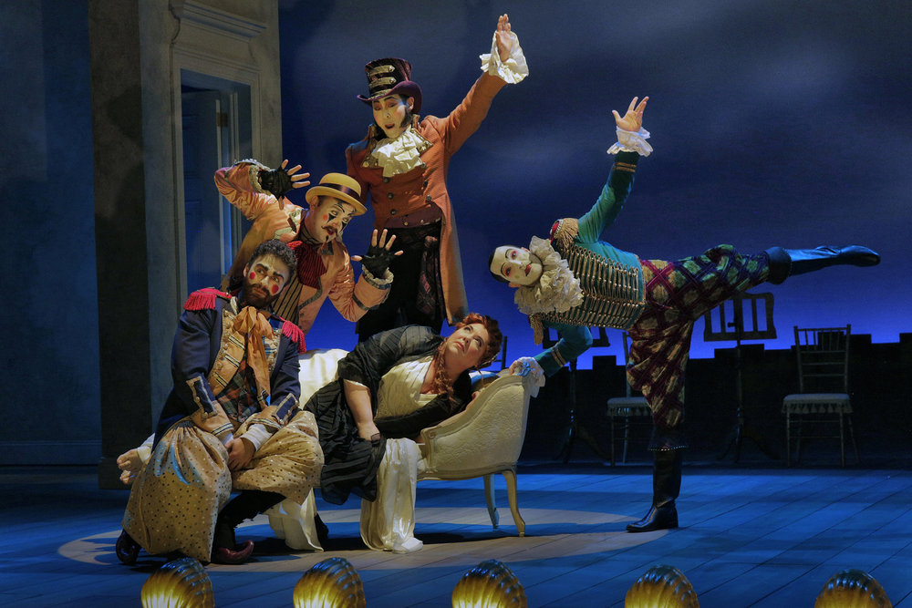 Harlekin in Ariadne auf Naxos   // Opera Theater of St. Louis   St. Louis, Missouri