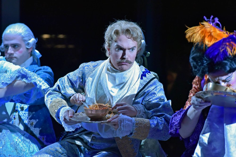 Dandini in La Cenerentola // Opera Saratoga  Saratoga Springs, New York