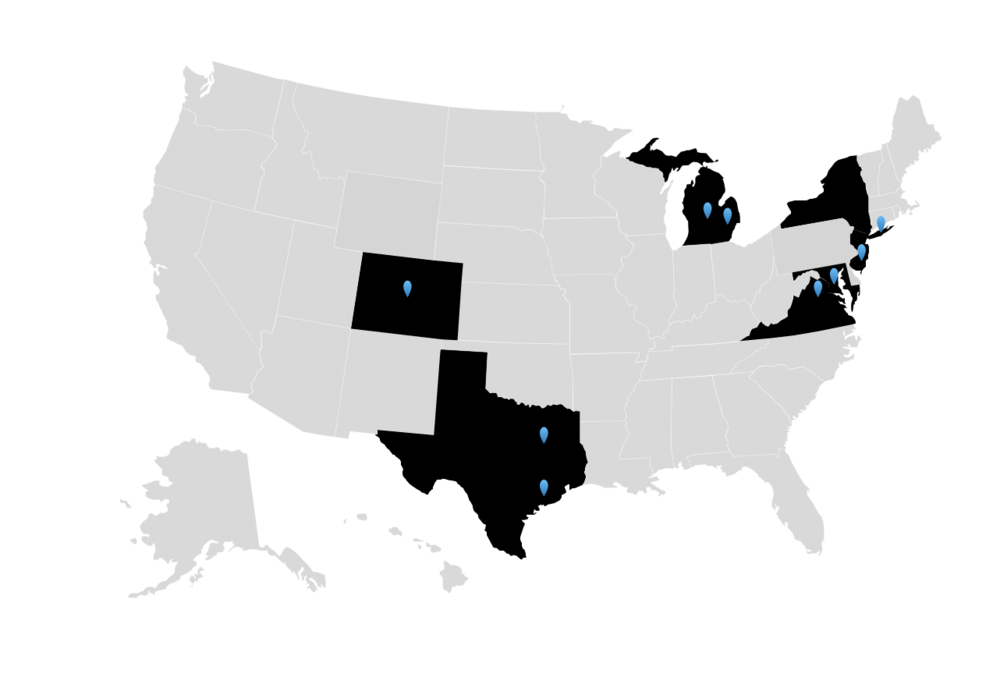 comprehensive pilates teacher training nationwide worldwide states state map