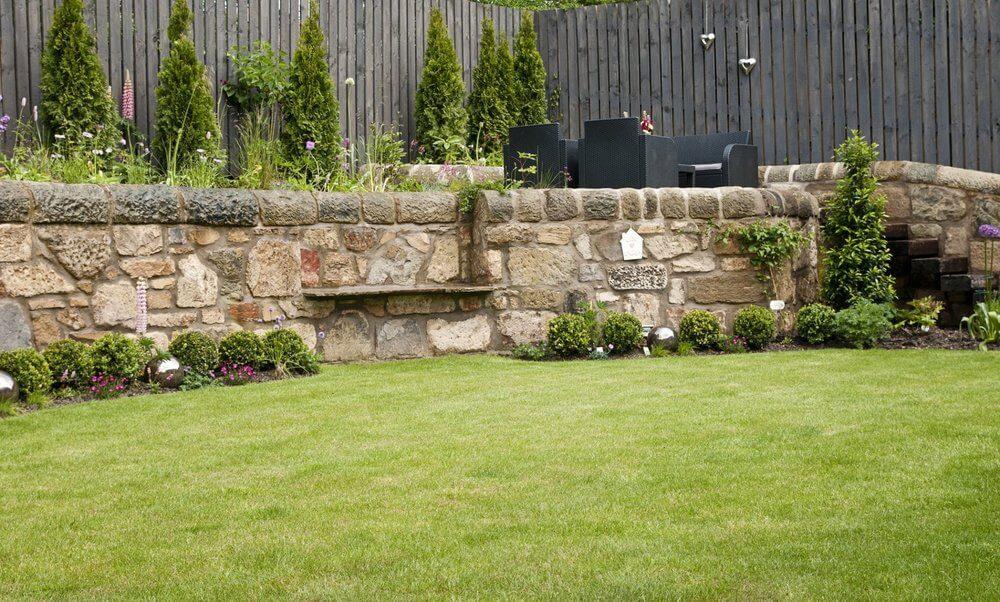 garden walling Edinburgh