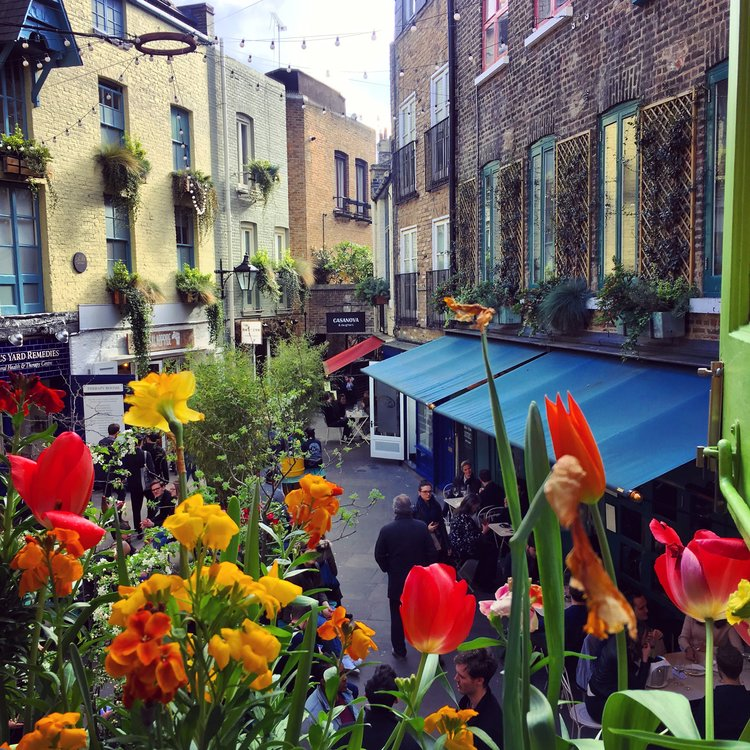 Neal's Yard, London, UK