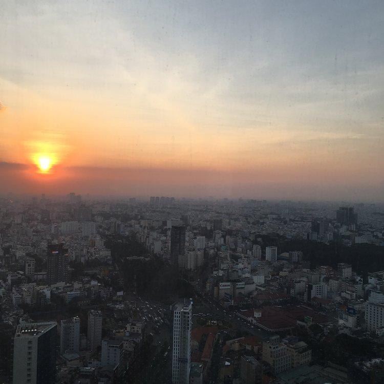 A pretty pretty cityscape  Ho Chi Minh City, Vietnam