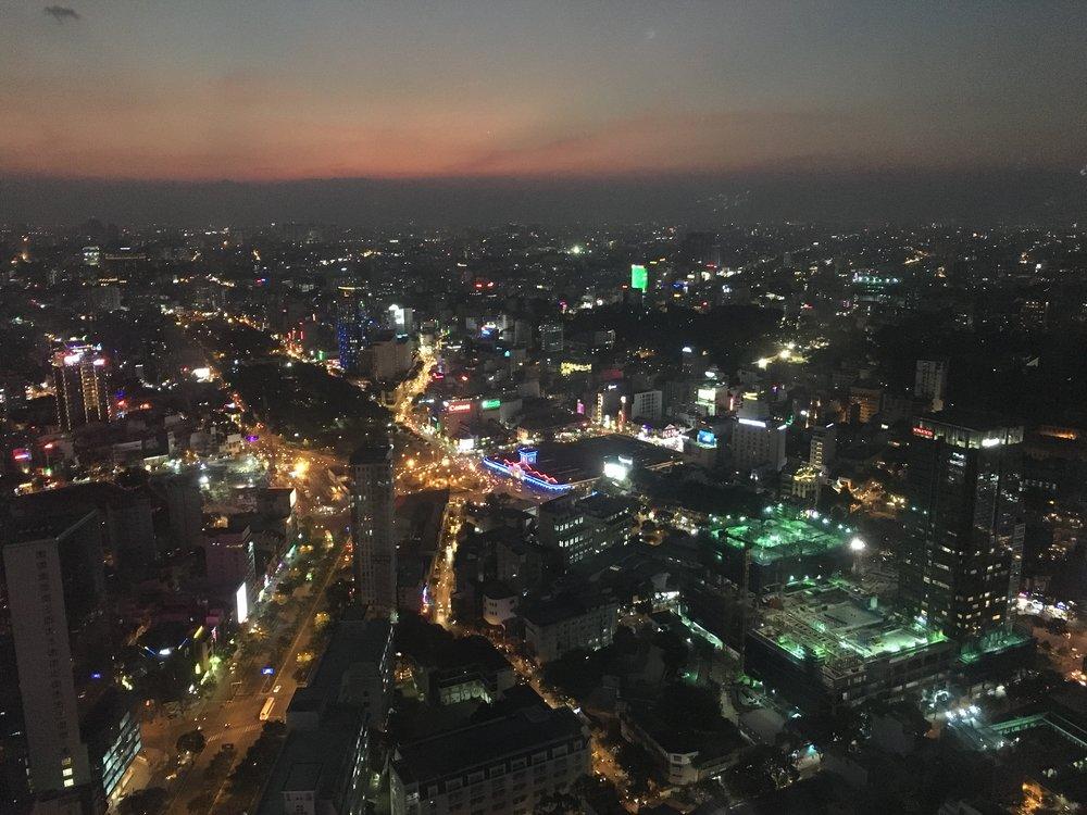 Friday night lights  Ho Chi Minh City, Vietnam