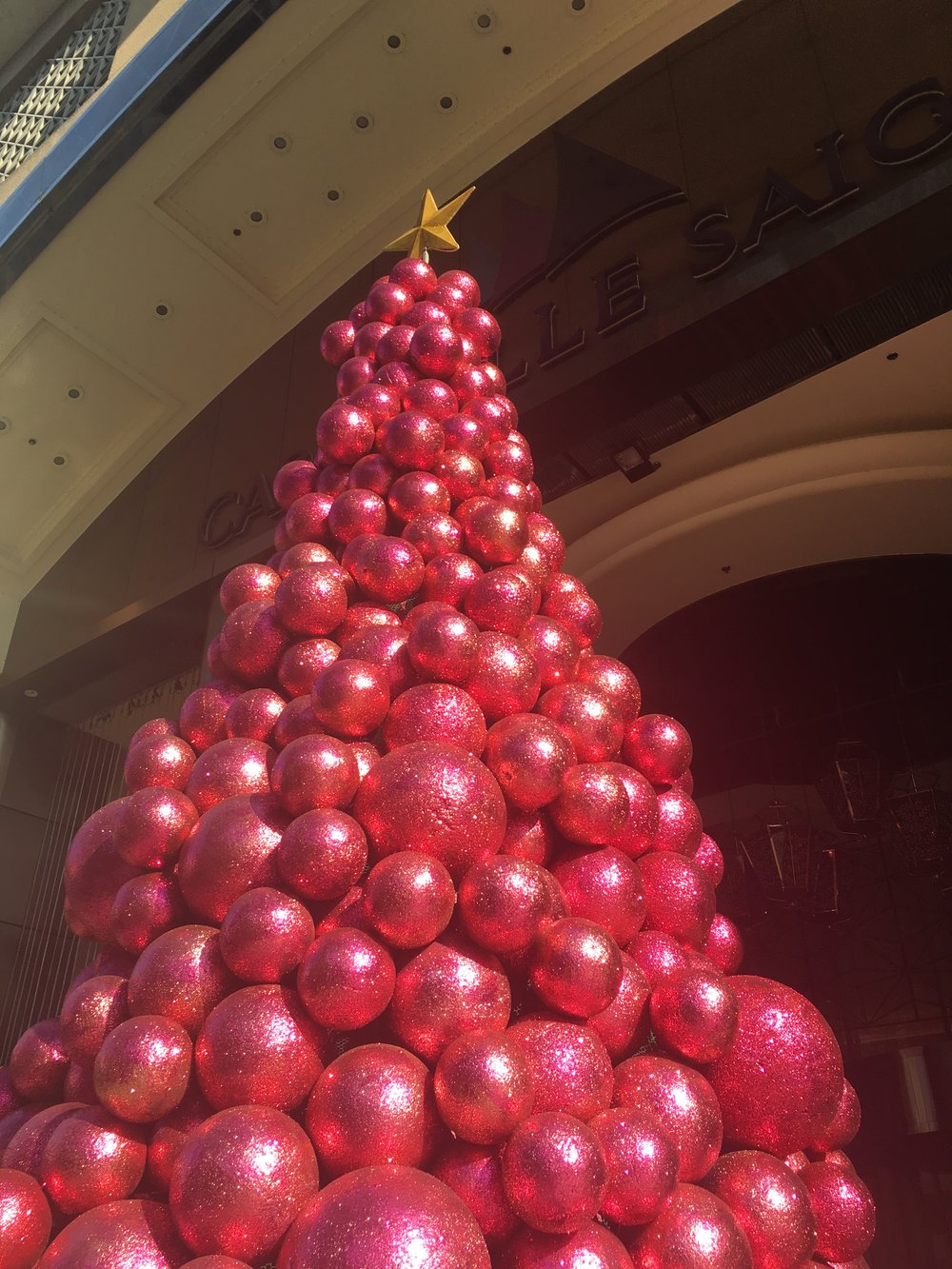 At Christmas we wear pink  Ho Chi Minh City, Vietnam