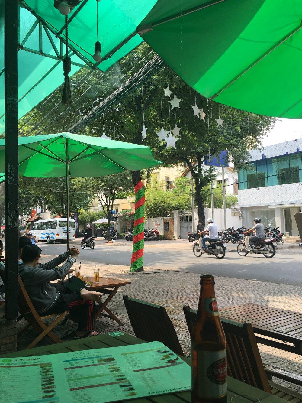 Street beer  Ho Chi Minh City, Vietnam