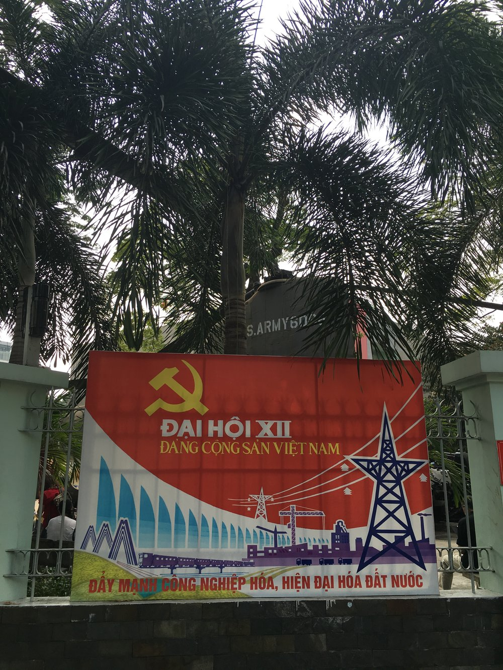 An important stop on any visit to HCMC  Ho Chi Minh City, Vietnam