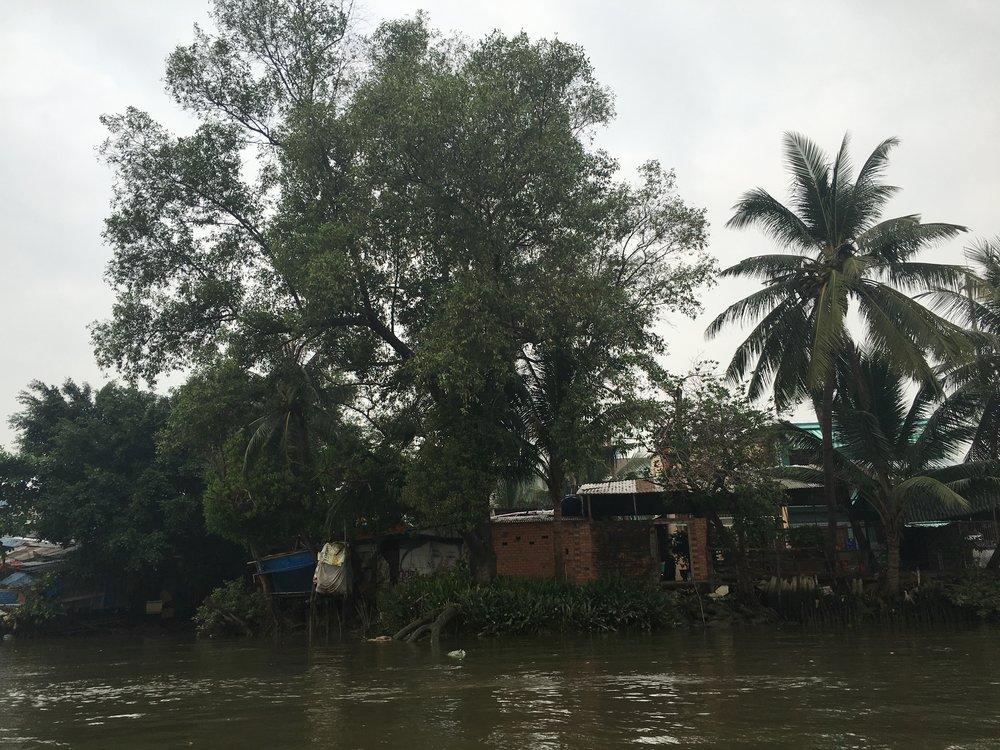River sights  Ho Chi Minh City, Vietnam
