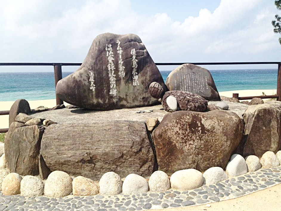 Turtle Beach, Yakushima, Japan