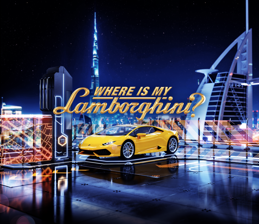 "WHERE IS MY LAMBORGHINI? - Now you have a chance to get your very own Lambo by playing our mobile game!The first game for the Lamborghini runs for 15 weeks. Every game day we hand out plenty of valuable rewards. For the first weeks, you not only play for daily rewards but also to get your invitation to the ""Dare to Dream"" TV series casting. Selected contestants take part in an experience of a lifetime in Magical Dubai. Every week the winner of the episode will secure their place in the Grand Finale of the series.For the last 8 weeks, there will be no more casting. The going gets tough. The best mobile gamer of each week will go directly to the Grand Finale. At the end of the Grand Finale, the lucky winner drives away in a brand-new Lamborghini."