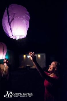 floating paper lanterns are amazing! Charlotte, NC