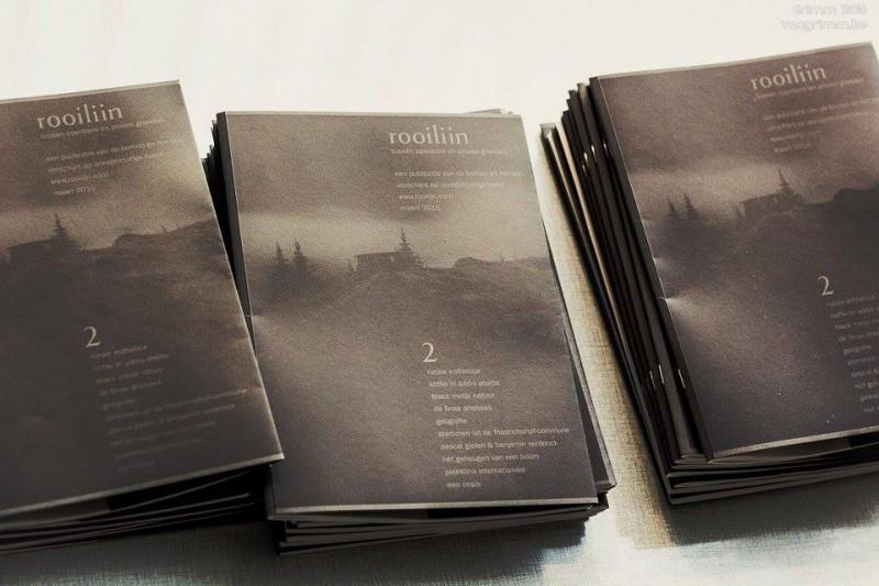 We presenteren ook de tweede editie van rooilijn, een publicatie over de werelden in en rond Het Bos.