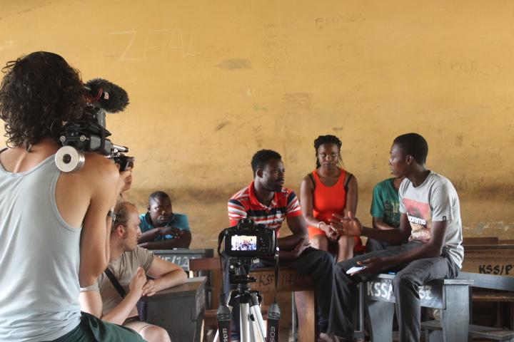 Voor het project ' Ghana For You ' zijn wij blij dat Maxim Hectors en Adams Mensah ons team versterken!