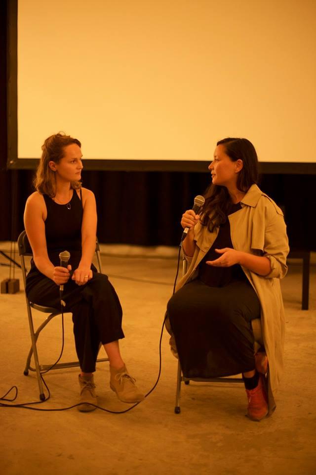De Imagerie is: Eva van Tongeren,  filmmaakster  en drijvende kracht achter ons filmfestival  Visite .