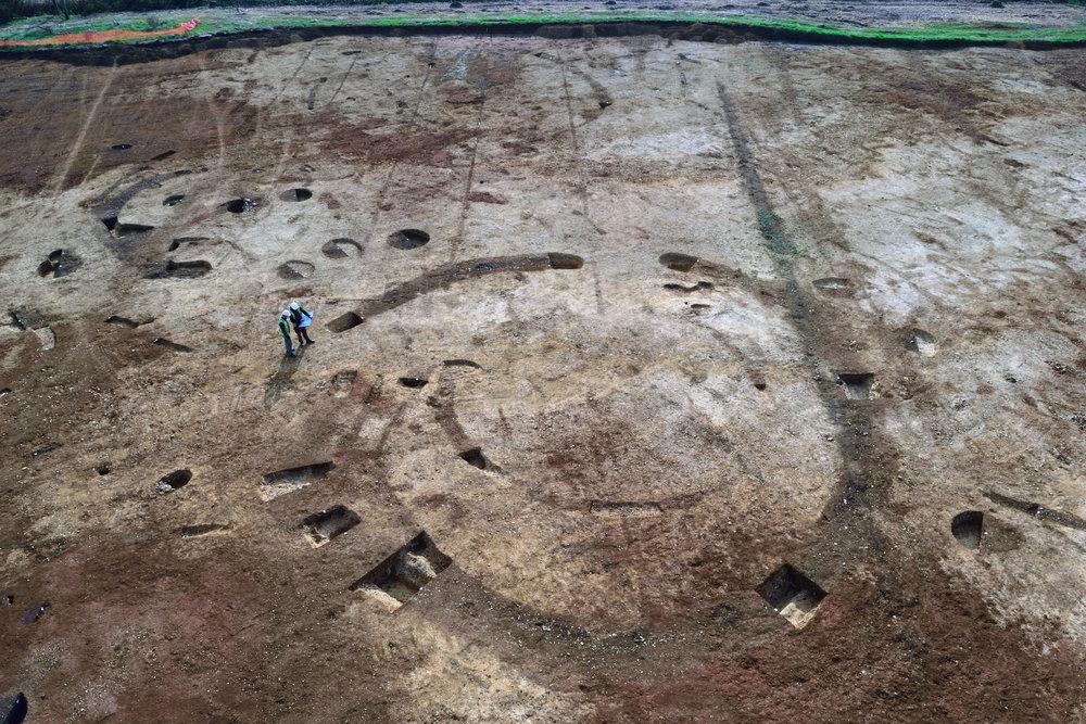 Excavations in Brackley.