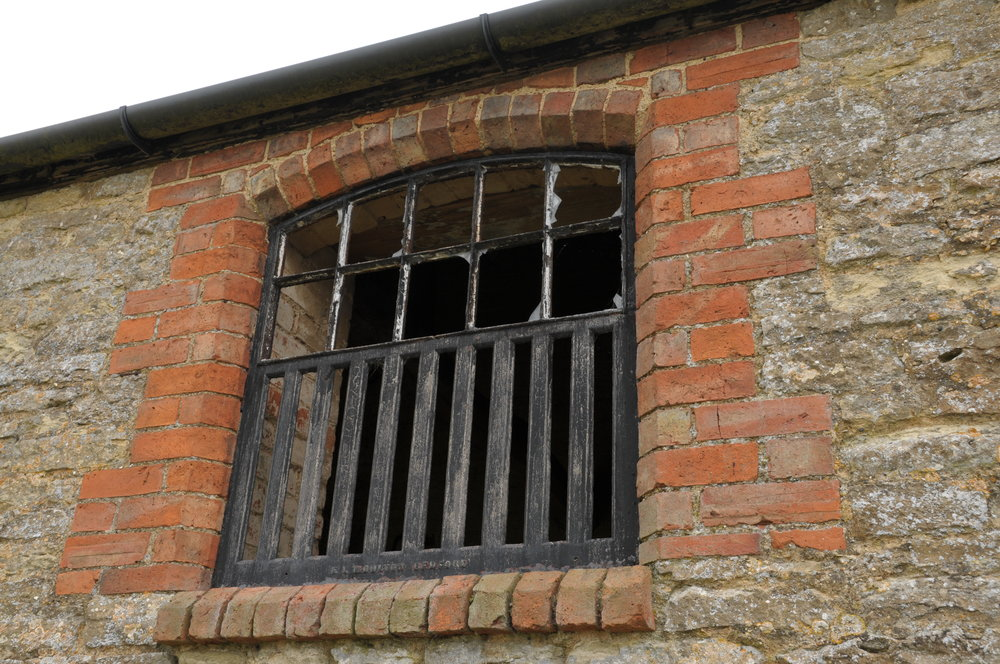 Albion Archaeology project. Barn window, Carlton, July 2015