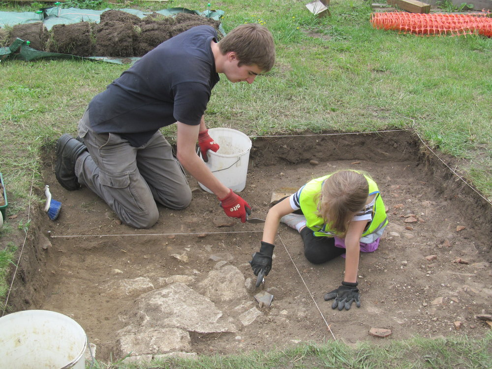 Excavation trench, Willington