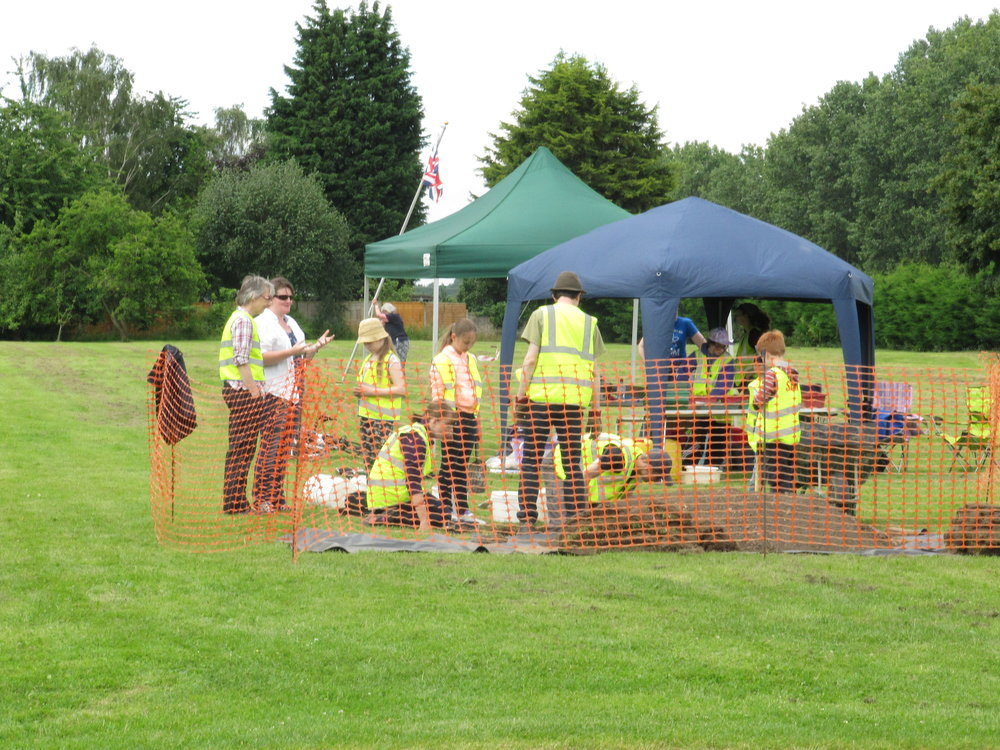 Festival of Archaeology, Willington