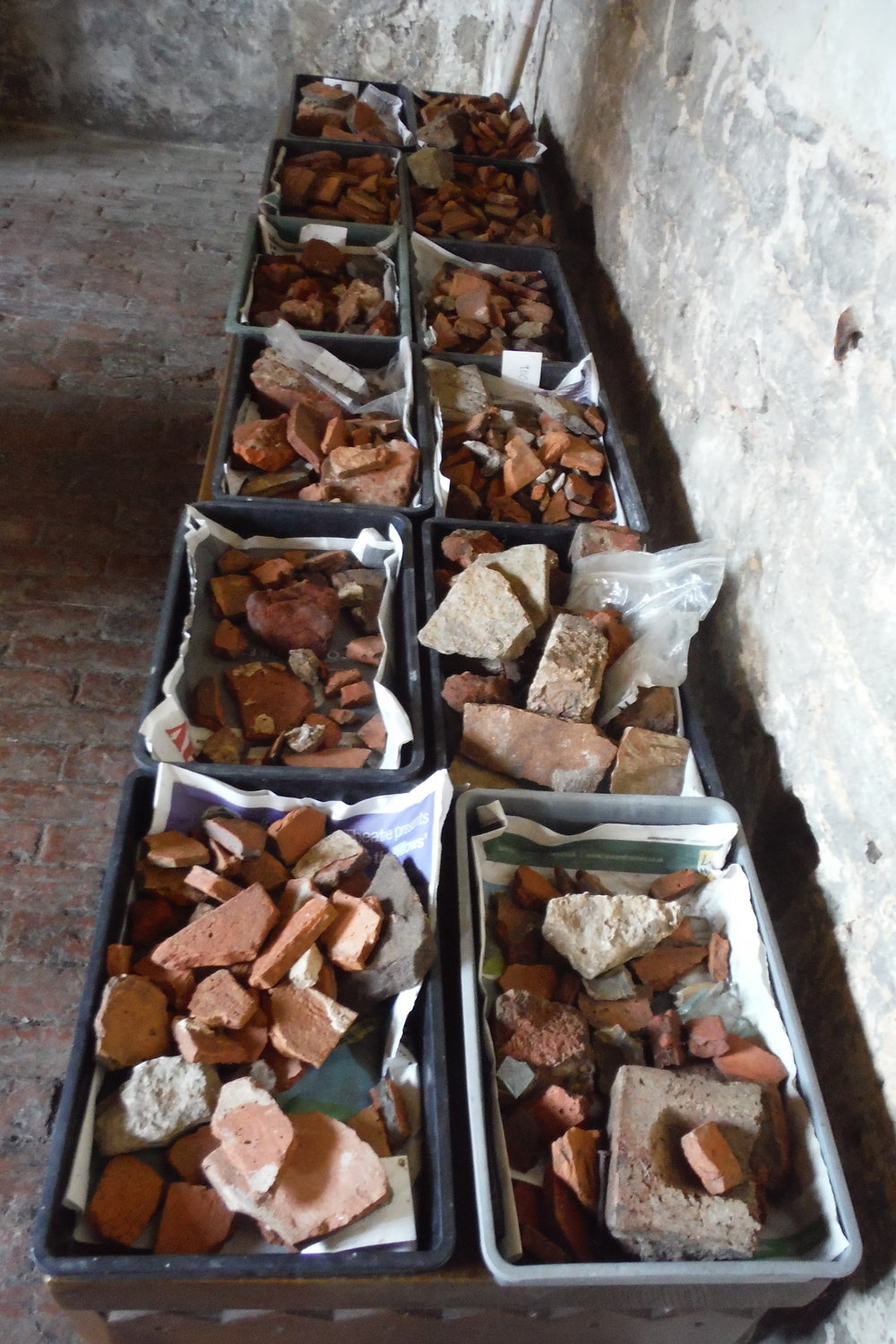 Finds from the Excavations at Willington