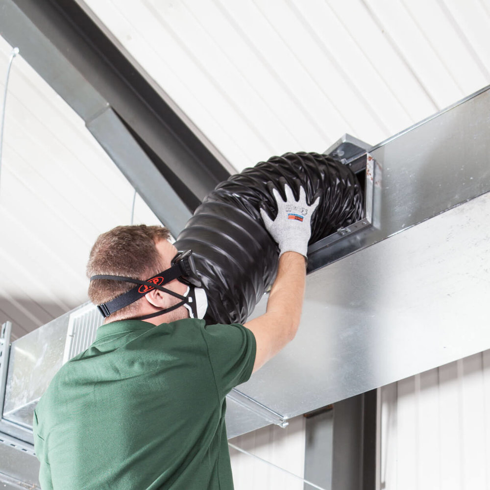 Ductwork Cleaning -