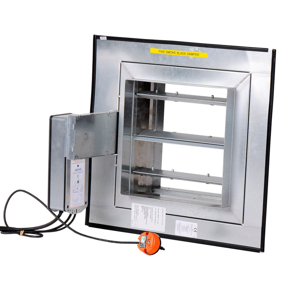 Fire dampers very important part of your fire safety for Motorized fire smoke damper installation