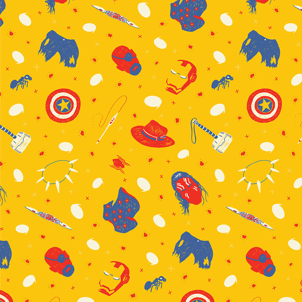 Marvel Cinematic Universe Pattern