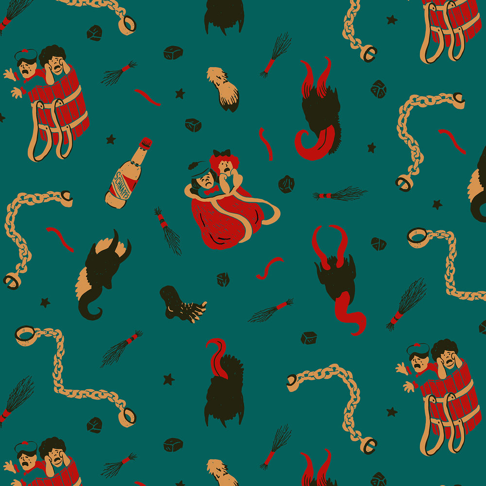Krampus Pattern