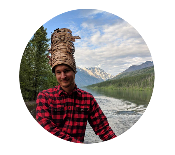 Fig. 1. I wear many hats at work and in nature. -