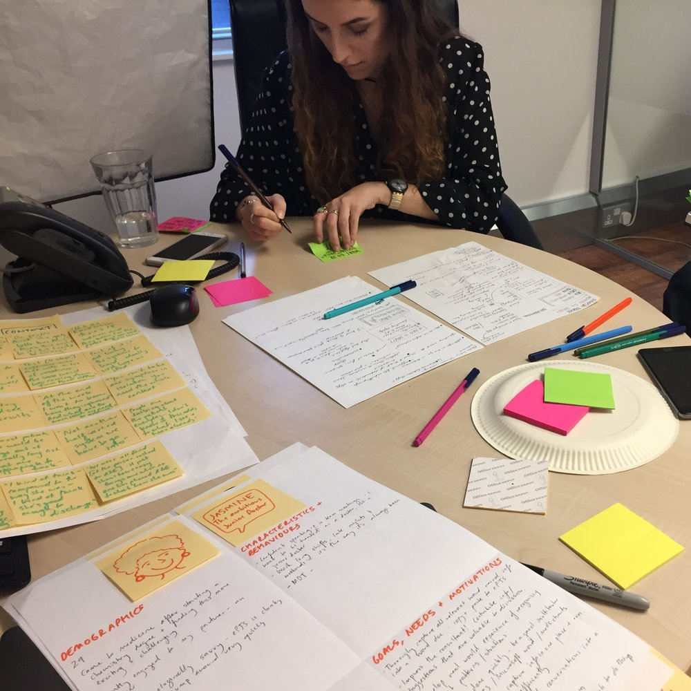 Drafting personas