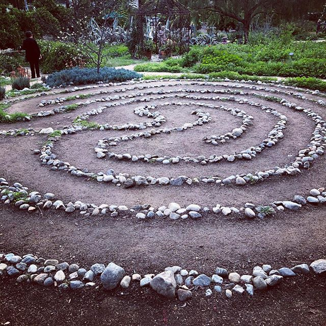 Meditation labyrinth:  walk the path and as you walk, think about your life's journey - where you currently are, where you've been, and where you wish to be. Take the time to thank the Lord, your God, the universe, for all your blessings and challenges, for these make you who you are and who you will be.  #arlingtongardenopenhouse2018 . . . . #meditation #labyrinth #contemplate #findpurpose #findpurposeinyourpassion #risingtidesociety #livelifewithpurpose #daregreatly