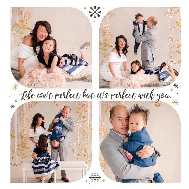 Merry Merry Christmas to you all!  May you cherish your loved ones and spend quality time with them. 📸: @carolinetran #christmascard2018 #lilyisabellecruzpang #ethanxaviercruzpang