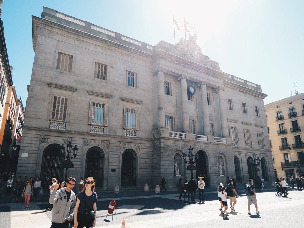 Plaça St Jaume — a square in the Jaume area near El Born