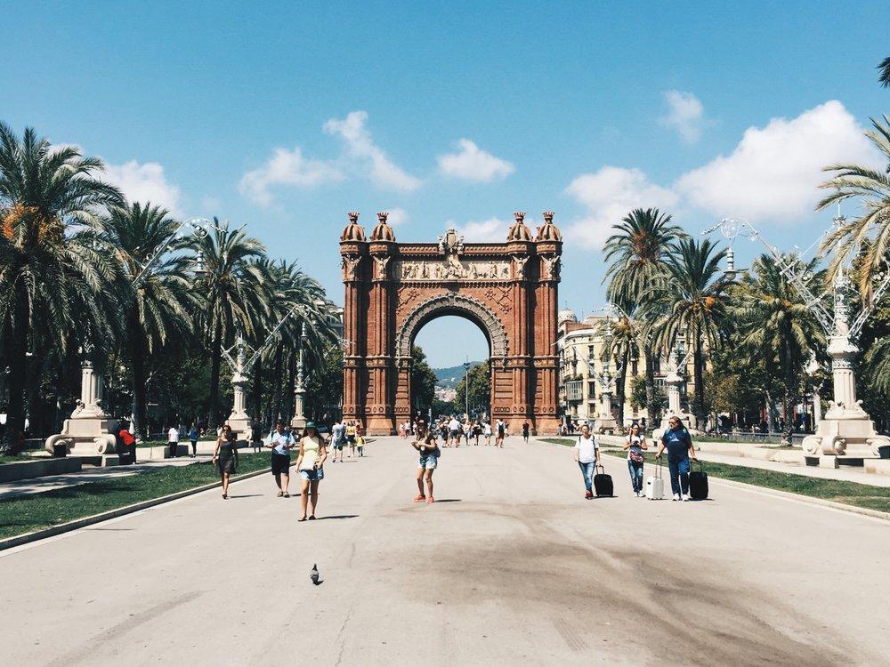 Barcelona's Arc de Triomf