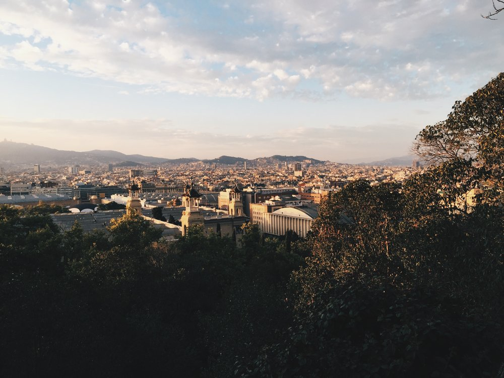 Another postcard perfect view at Montjuïc