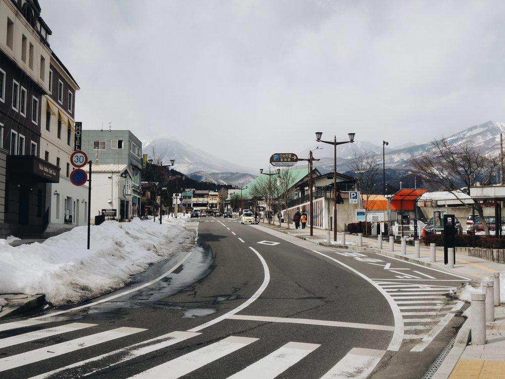 Nikkō in the winter