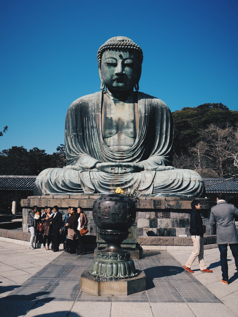 The second largest Buddha statue in Japan