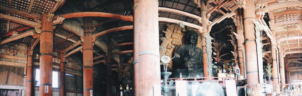 Daibutsu in the Daibutsu-den