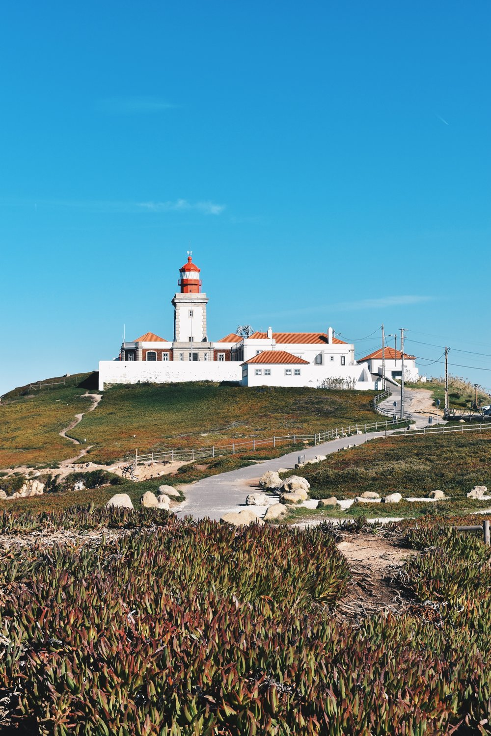 The sole attraction at Cabo da Roca that isn't the Atlantic Ocean and Coast